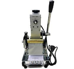 110V US Hot Stamping Machine For PVC ID Credit Card Hot Foil Stamping Bronzing