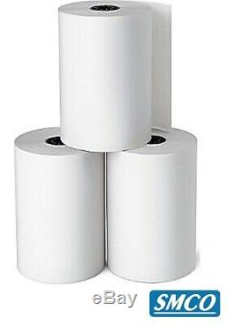 200 THERMAL ROLLS 57mm x 30mm CREDIT CARD Receipt PDQ Paper FULL LENGTH By SMCO
