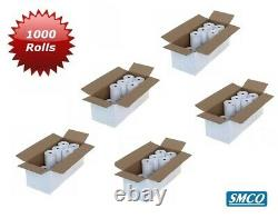 57 x 38 mm CREDIT CARD PDQ ROLLS Thermal Paper TERMINAL Till RECEIPT R130 BySMCO