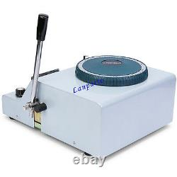 68-Letters PVC Card Embosser Manual Credit ID VIP Gift Card Embossing Machine