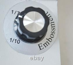 80 Characters Convex Embosser Manual PVC ID Credit Card Embossing Machine New