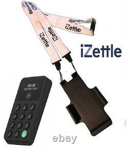 Black iZettle Card Reader 2 & iZettle Neck Lanyard