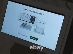 Clover Point of Sale C-100 System Station P-100 Printer Password Locked- AS IS