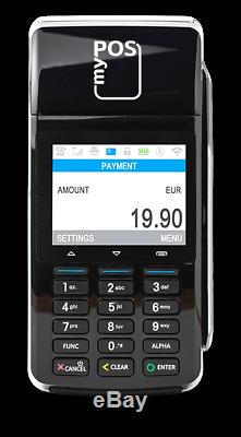 Contactles Wireless Payment POS Credit Card Machine With Printer & Free 3g Data