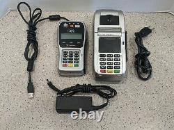 First Data FD130 Duo and FD-35 PIN Pad Credit/Debit Card POS Terminal