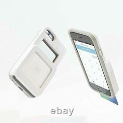 Heavy Duty Fits and Protects iPhone 6/7/8 and Square Credit Card Reader White