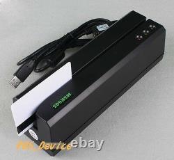 HiCo Magnetic Card MSR Reader/Writer Encoder Stripe Mag Com. MSR206 3track