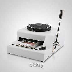 Hot Sell 72-Character PVC Manual Credit Card Embossing Machine Embosser