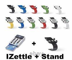 IZettle Card Reader & Desktop Hi Quality Stand Choose Your Color UK Stock