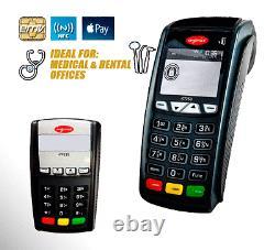 Ingenico iCT220 IP/Dial WithEMV Reader NFC & iPP 220 P-Pad Account Setup Required