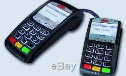 Ingenico iCT250 V2 IP/Dial Terminal with iPP320 V2 EMV PIN Pad & Contactless