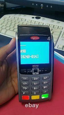 Ingenico iWL255 WIRELESS 3G EMV/NFC with BASE for First Data withWARRANTY