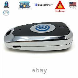 KJB One Touch Reader Credit Card Skimmer Protection Disclaimer the deScammer Fob