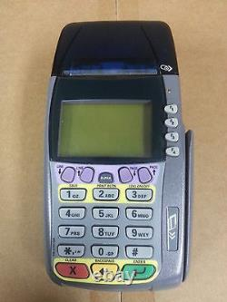 LOT OF 2 OMNI 3740 VERIFONE TERMINALS Complete Sets with Warranty 3750 3730