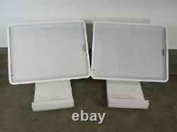 LOT of 2 Square S015 iPad 30 Pin Connector Card Reader POS Stands ONLY Look