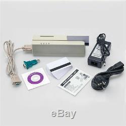 MCR200 EMV CPU Smart IC Chip & Magnetic Stripe Card Reader Writer Tracks 1,2,3