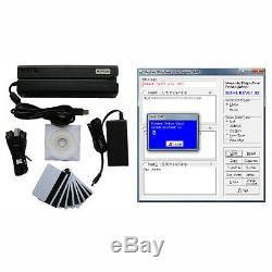 MSR 606 magnetic stripe card reader writer MSR206 MSR609 mag swipe card encoder