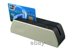 MSR X6 Smallest Magnetic Card Reader Writer+ MINI400B Portable Magnetic Reader