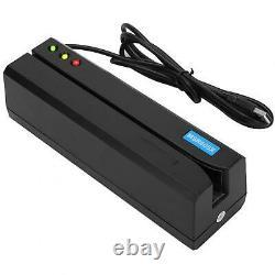 MSR605X Magnetic Strip Credit Card Reader Indicator Magstripe Writer 3Tracks