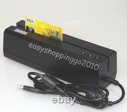MSR606 Magnetic Card Reader Writer+Mini300 Magnetic Reader Collector Bundle
