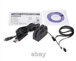 MSRE206 HiCo Magnetic Stripe Card Writer&MINI300 Reader Bundle Encoder Collector