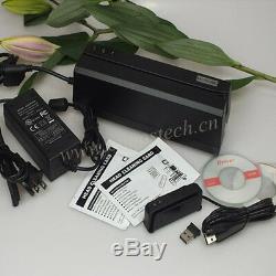 MSRE206 Writer & Mini400B Bluetooth Wireless Mag Card Reader Comp. Msr206 DX4B
