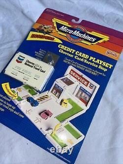 Micro Machines, Galoob, Insiders, Credit Card Playset, BNIB, Good Condition