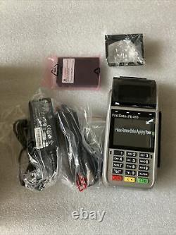 NEW First Data FD410 Wireless Credit Card Terminal Reader