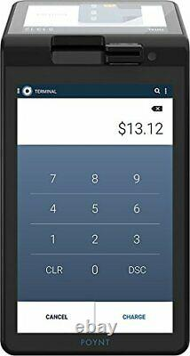 New Poynt Smart Credit Card Terminal 7 Touch Screen Includes Dock