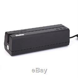 New USB MSRE206 Hico Encoder 3-Track Magnetic Stripe Credit Card Writer/Reader