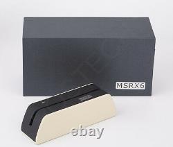 Portable MSR09 X6 Magnetic Magstripe Credit Card Reader Writer Encoder MSRE206