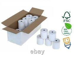 Rolls INGENICO MOVE 3500 CREDIT CARD PDQ 57 X 40 Thermal Receipt Paper BPA FREE