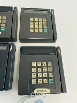 Shelf1 Lot of 6 Verifone TRANZ330 T2 v3.7 Credit Card Terminal Untested