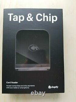 Shopify Tap and Chip Reader, Dock, Mini Dock Cable & Power Adapter NEW IN BOXES