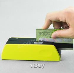 Smallest Magnetic Stripe Card Reader Writer MSR X6+ Mini4B Magnetic Reader