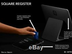 Square Register POS Point of Sale with Customer Display and Contactless Payment