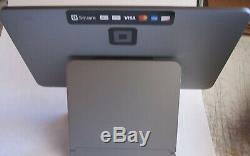 Square Register POS System New & Complete Open Box Dual Screens Free Fedex