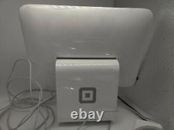 Square Stand Point of Sale System with Contactless Reader Used