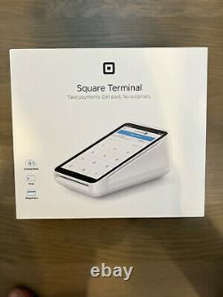 Square Terminal A-SKU-0584 + FREE Hub for Square Terminal Cash Terminal Barcode