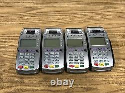 Used Verifone VX520 Credit Card Reader Machine POS Lot of 4 Untested