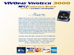 VIVOpay 3000 Contactless Reader NFC/ POS & Electronic Cash Registers APPLE PAY