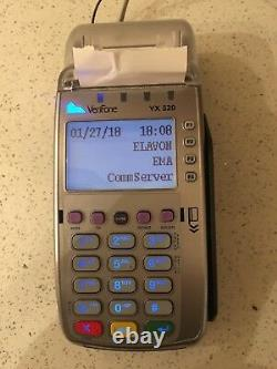 Verifone VX520 Credit Card Machine with Chip Reader EMV, Ethernet or Dial