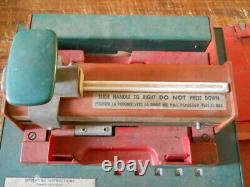 Vintage Texaco Credit Card Machine