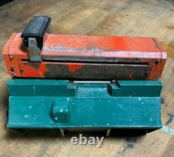 Vintage Texaco Gas Station Farrington Hand Operated Slide Credit Card Machine