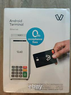 Viva Wallet Android Terminal Card reader Ethernet Brand new unopened