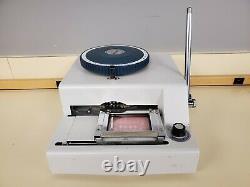 WSDM-70C WONDER 70 Manual Stamping Embosser Credit ID PVC Card Embossing Machine