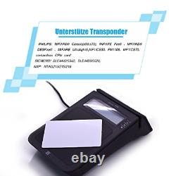 YIQing E7 USB Smart NFC RFID Reader Writer Support NFC contact and contactless +