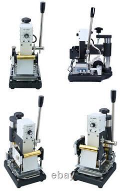 110v Us Hot Stamping Machine For Pvc ID Credit Card Hot Foil Estampage Bronzing