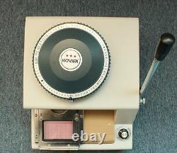 2 En 1 80ce 80 Manuel Pvc ID Carte De Crédit Embossing & Indenting Embosser Machine