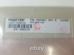 22523001 Magtek Mini Micr Check Reader Scanner Usb